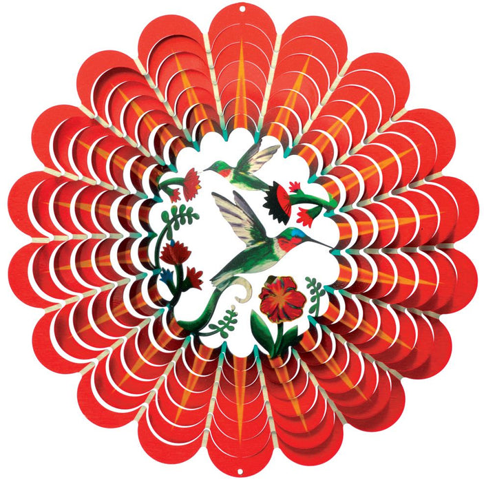 Wind Spinner-Hummingbird-3D