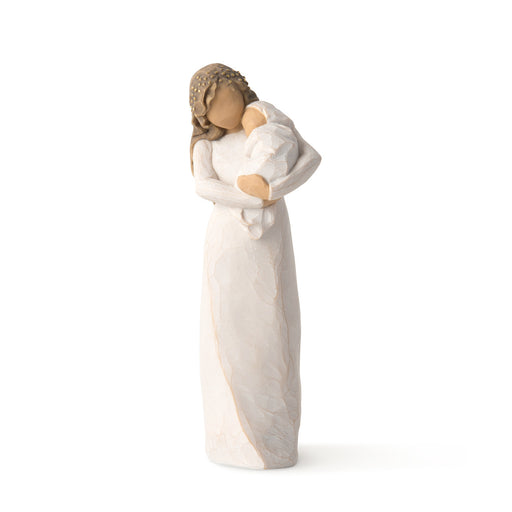 Figurine-Willow Tree-Sanctuary-Mother Holding Baby