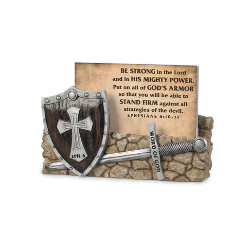 Scripture Card Holder-Armor of God