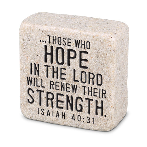 Stone-Those Who Hope In the Lord