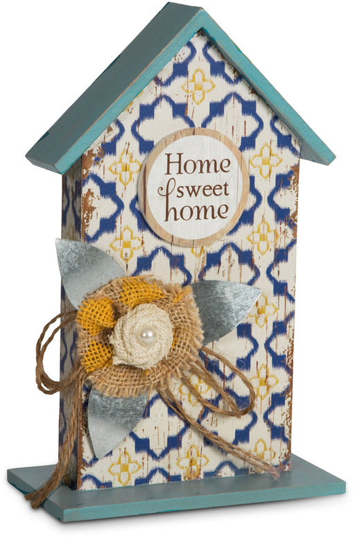Plaque-Birdhouse-Home Sweet Home
