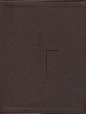 NIV Jesus Bible-Brown Leatherflex