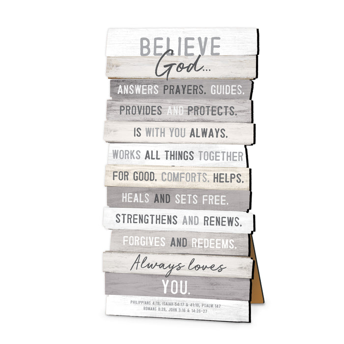 Plaque-Believe-Stacked Words-Small-5x10