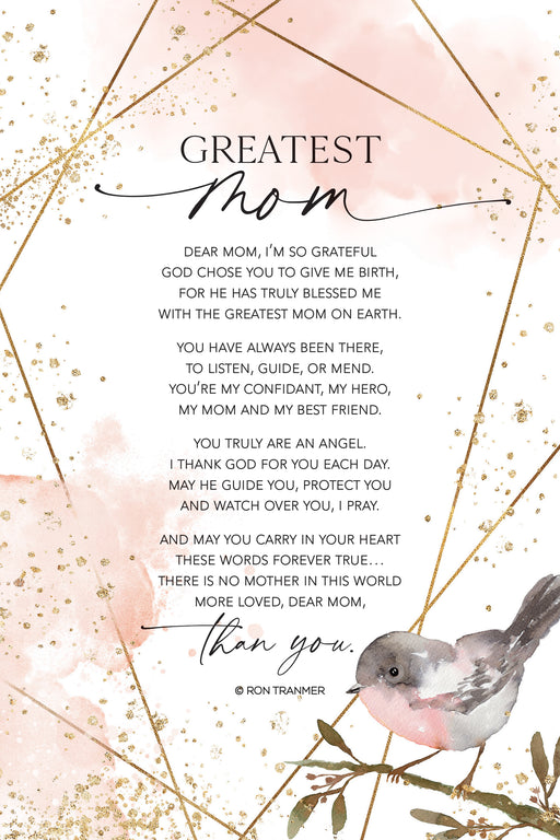 Plaque-Mom/Greatest-Bird