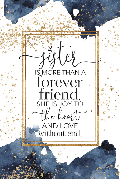 Plaque-Sister/Forever Friend