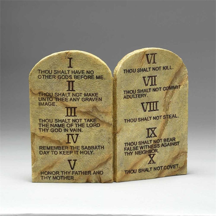 Plaque-Ten Commandments