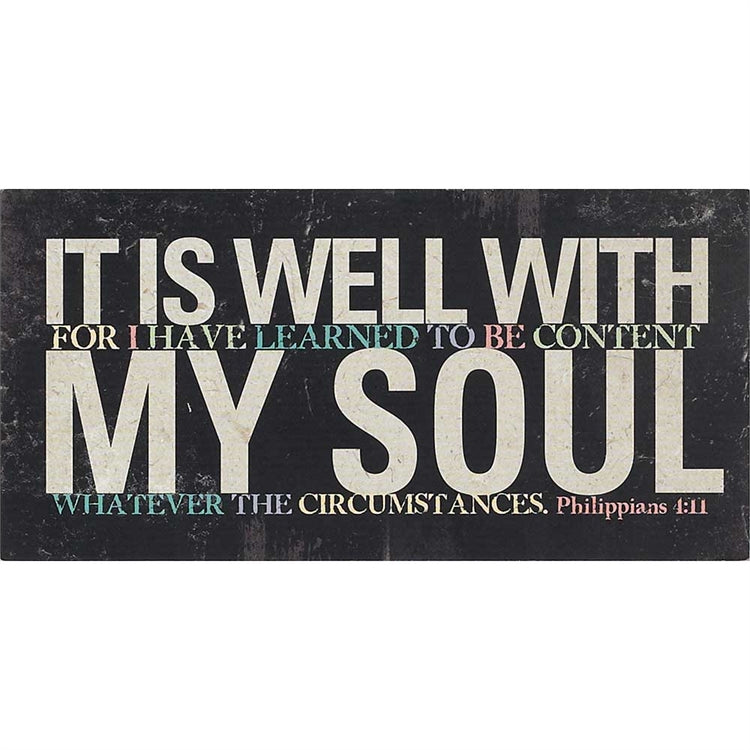 Canvas-It Is Well with My Soul-10X5