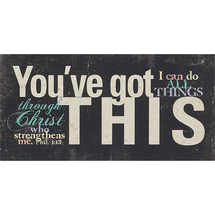 Canvas-You've Got This-10X5