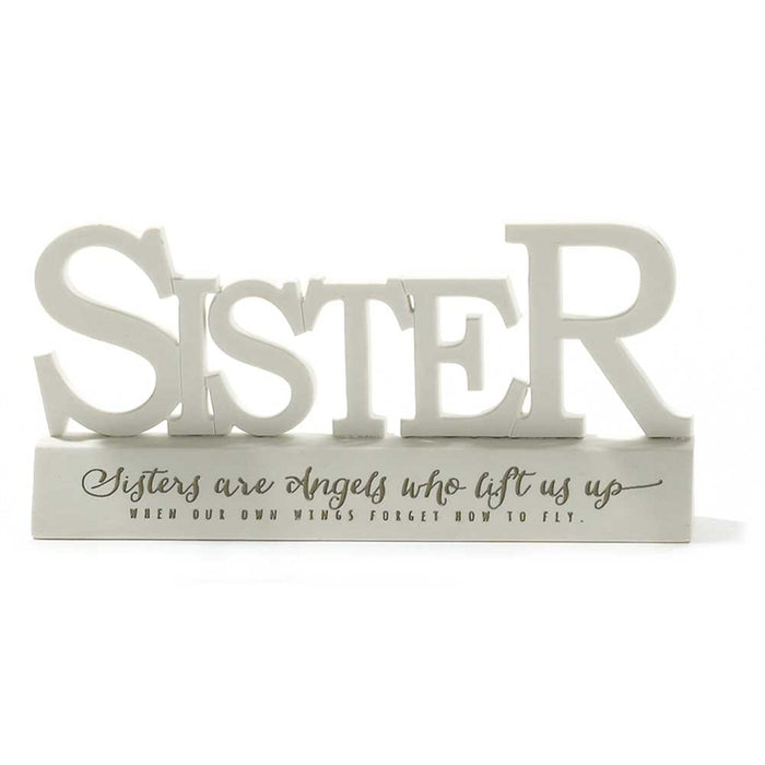 Figurine-Sisters Are Angels-3.5X3.5 Resin