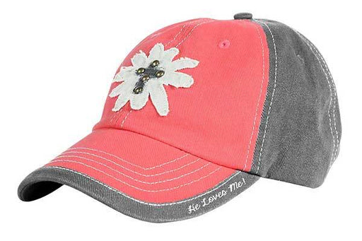 Cap-Daisy He Loves Me-Cherished