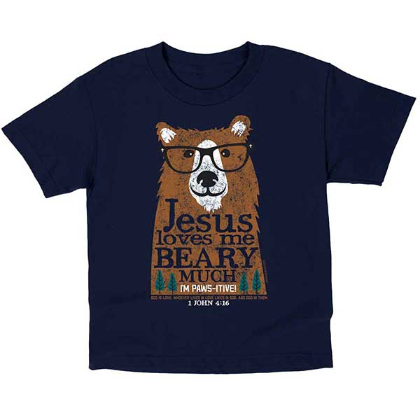 Kids T-Shirt- Beary Much