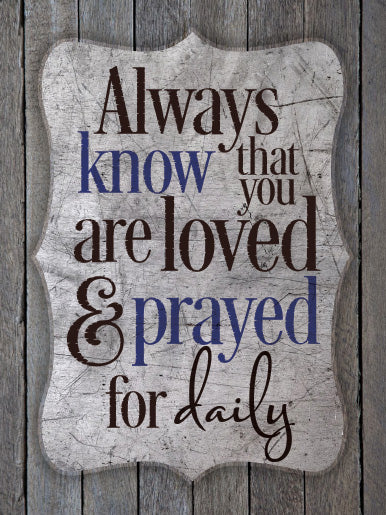 Magnet-Always Know-Loved & Prayed For