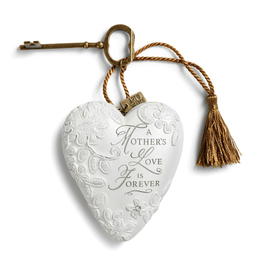 Ornament-Heart with Key-Mother's Love