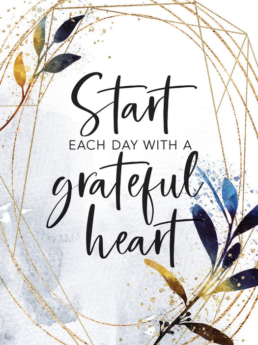Magnet-Start Each Day/Grateful Heart