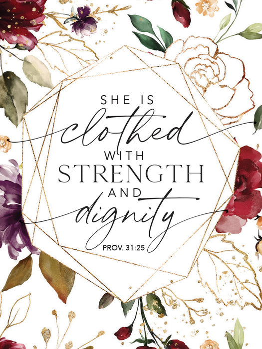 Magnet-She Is Clothed With Strength And Dignity
