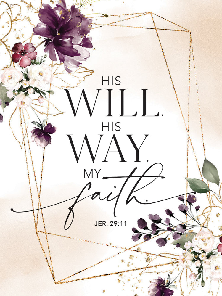 Magnet-His Will His Way My Faith
