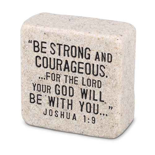 Stone-Be Strong & Courageous