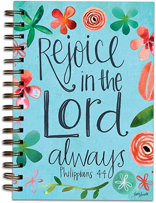 Journal-Rejoice in the Lord-Floral