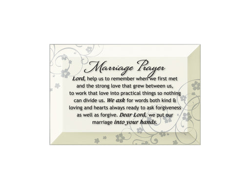 Plaque- Marriage Prayer