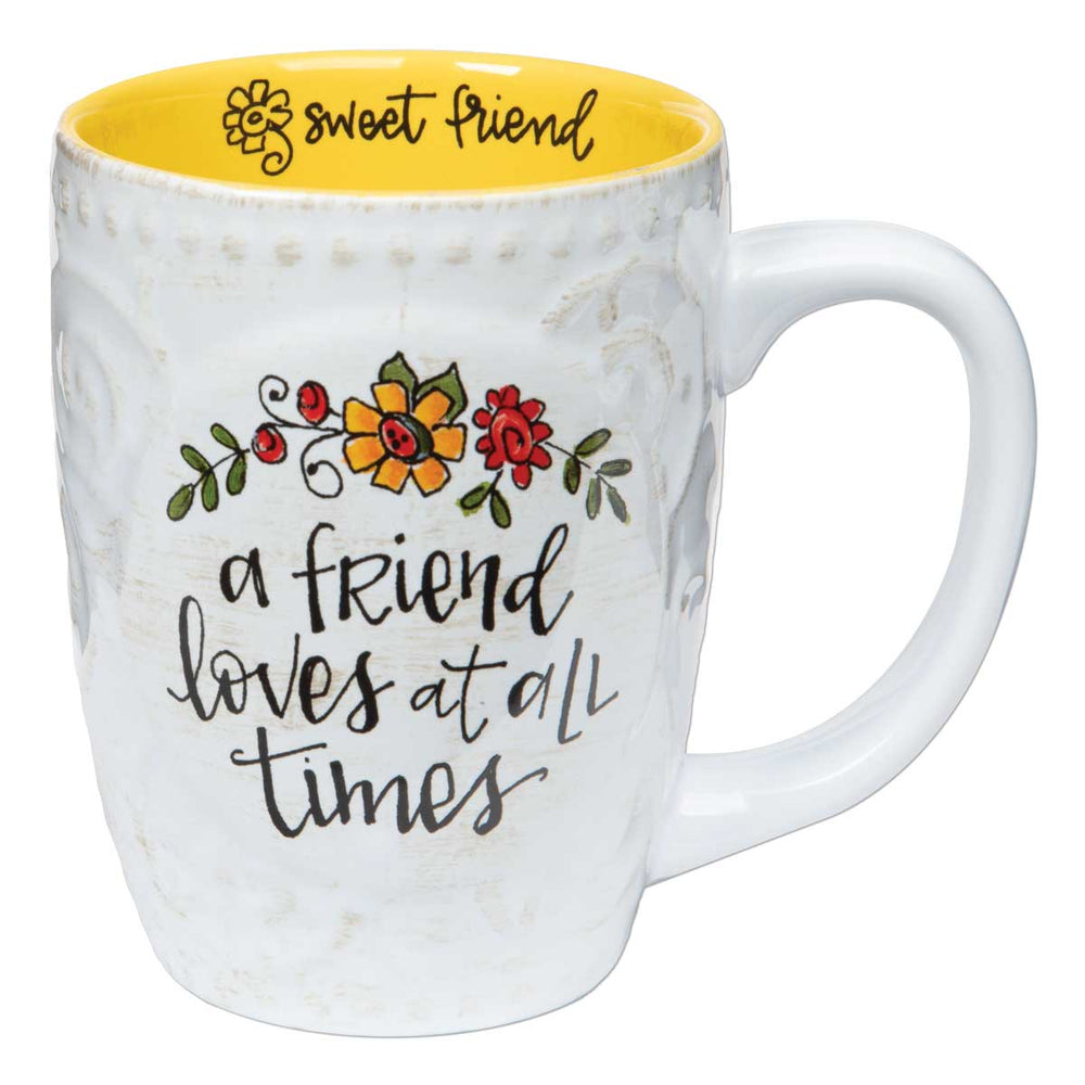 Mug-Friend Loves-Sculpted-16 oz
