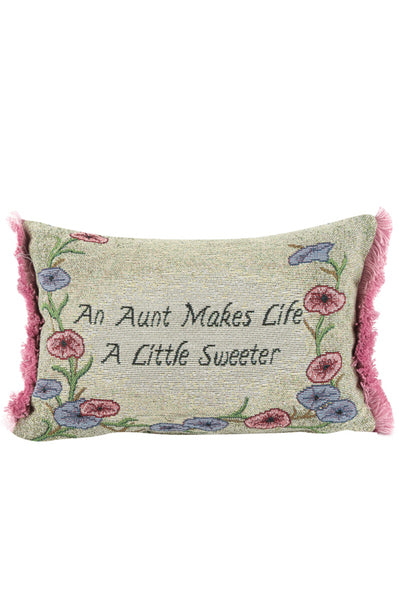 Pillow-Aunt Makes Life A Little Sweeter