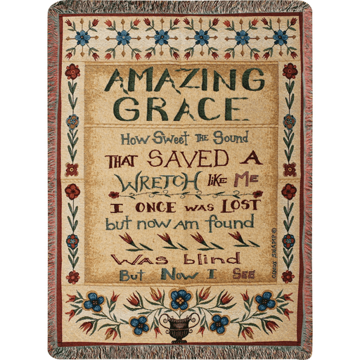 Throw-Amazing Grace-50 x 60