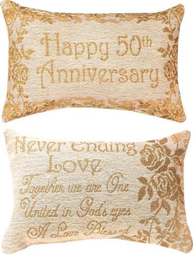 Pillow- 50th Anniversary