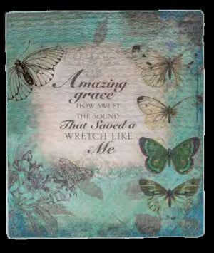Quilt-Amazing Grace/Butterflies
