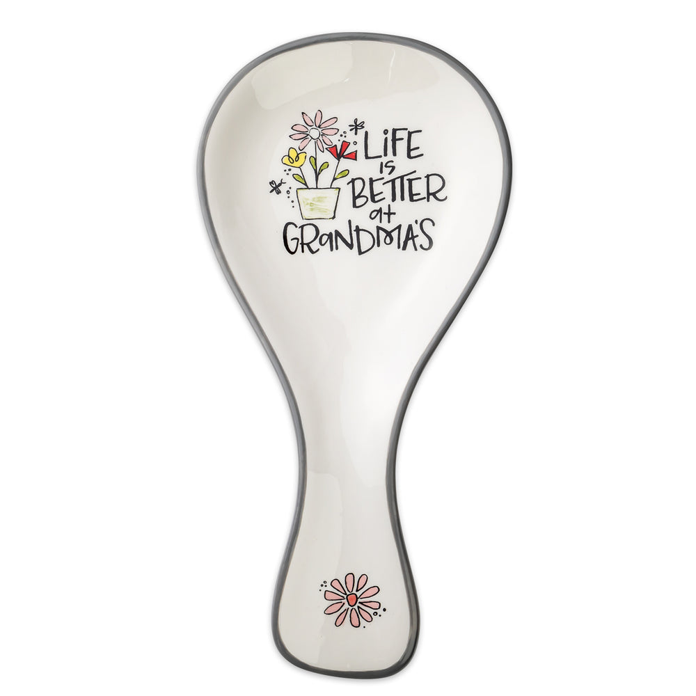 Spoon Rest-Life Is Better At Grandma's