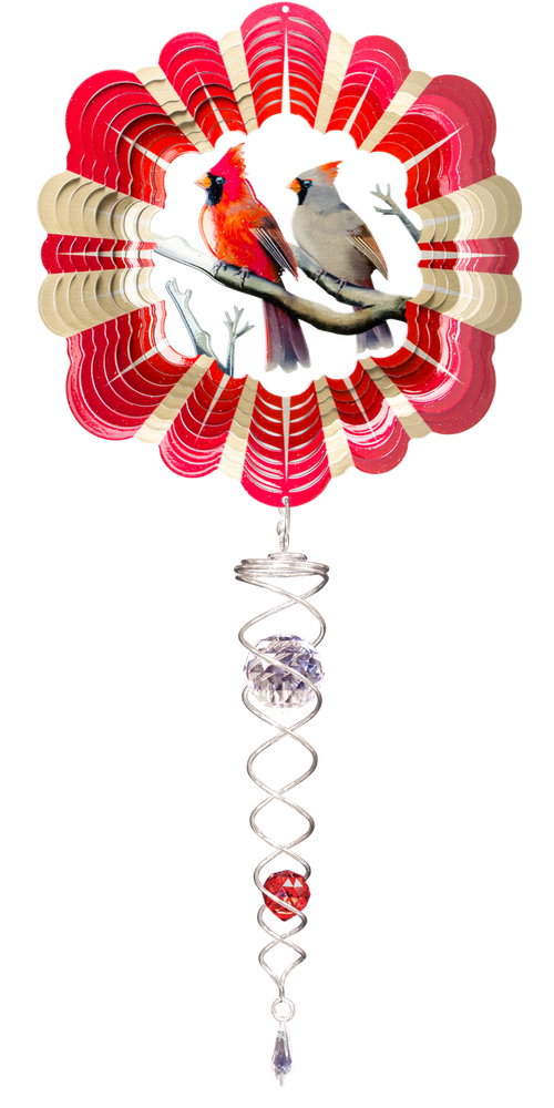 Set-Spinner/Crystal Twister-Cardinal