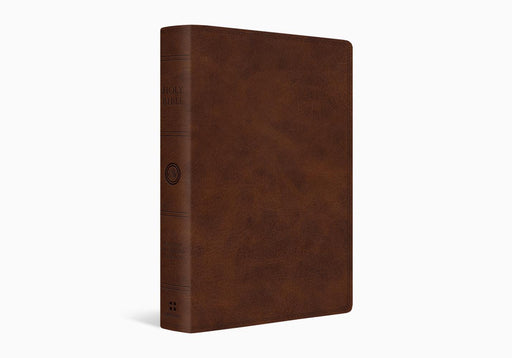 ESV Giant Print Bible-Deep Brown TruTone
