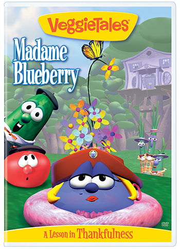 DVD-Madame Blueberry: A Lesson in Thankfulness