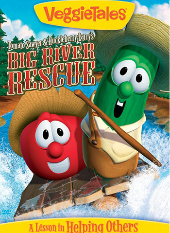 DVD-Tomato Sawyer & Huckleberry Larry's Big River Rescue