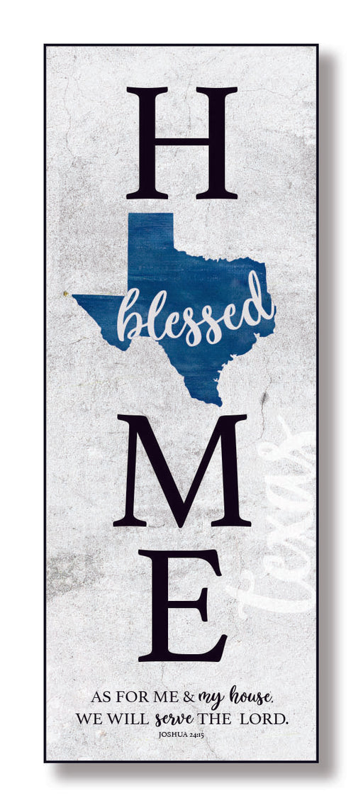 Plaque-Texas-Blessed Home