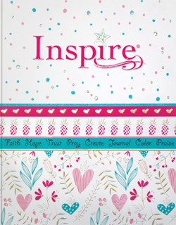 NLT Inspire Bible For Girls-Softcover