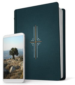 NLT Filament Bible-Midnight Blue Hardcover