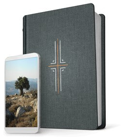 NLT Filament Bible-Gray Hardcover