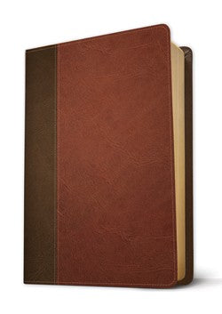NLT Life Application Study Bible Third Edition-Brown Leatherlike