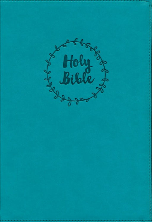 NIV Value Thinline Large Print-Turquoise