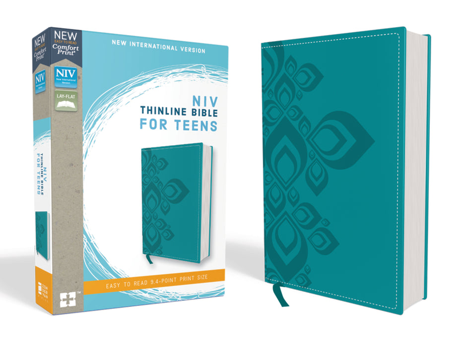 NIV Thinline Bible For Teens Comfort-Turquoise