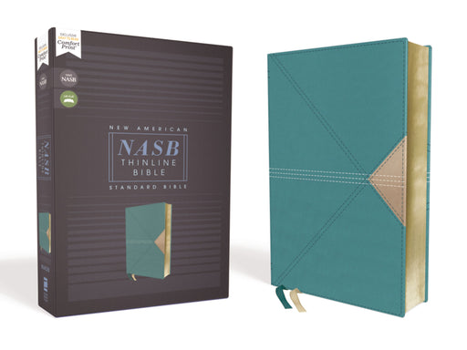 NASB-Thinline Bible-Teal Leathersoft
