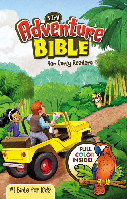 NIRV Adventure Bible for Early Readers- Paperback