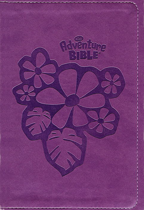 NIRV Adventure Bible for Early Readers- Purple