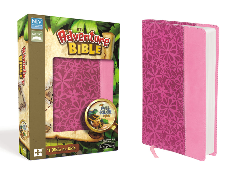 NIV Adventure Bible-Pink