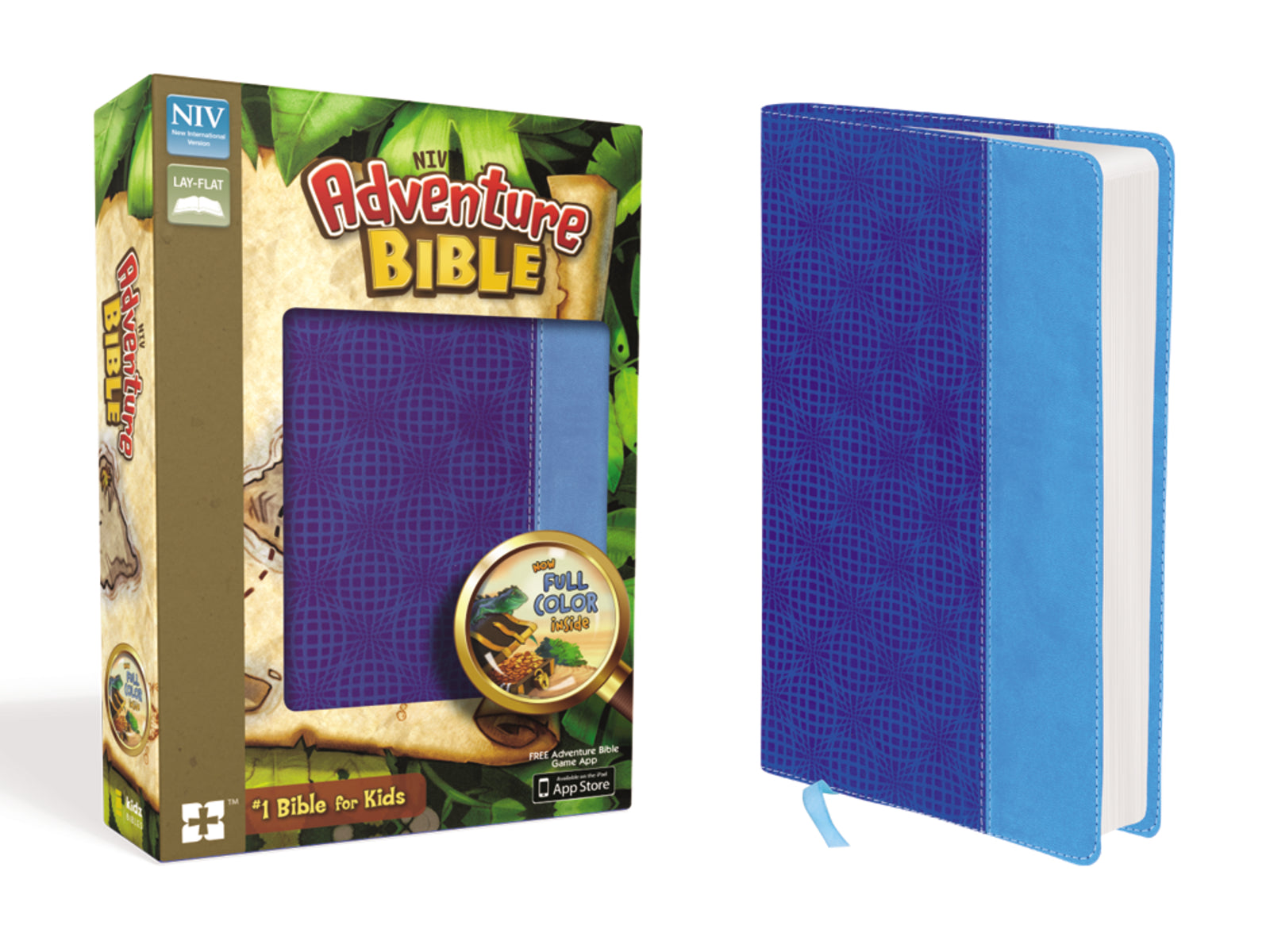 NIV Adventure Bible-Blue