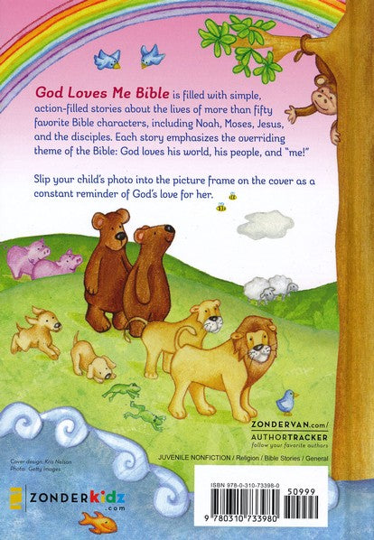 God Loves Me Bible- Newly Illustrated Edition-Susan Elizabeth Beck