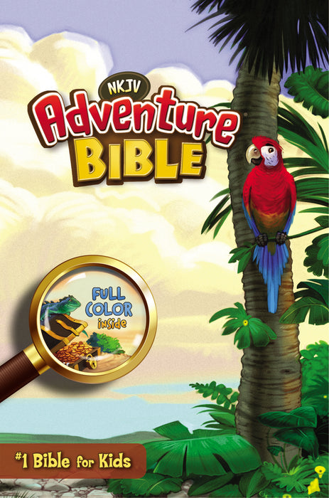 NKJ Adventure Bible-Hard Cover