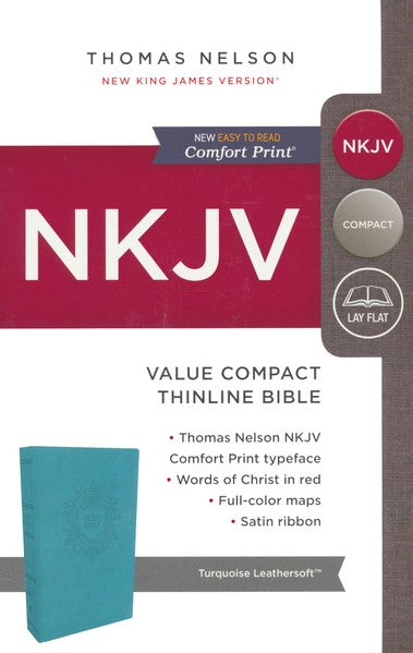 NKJV-Value Compact Thinline-Blue