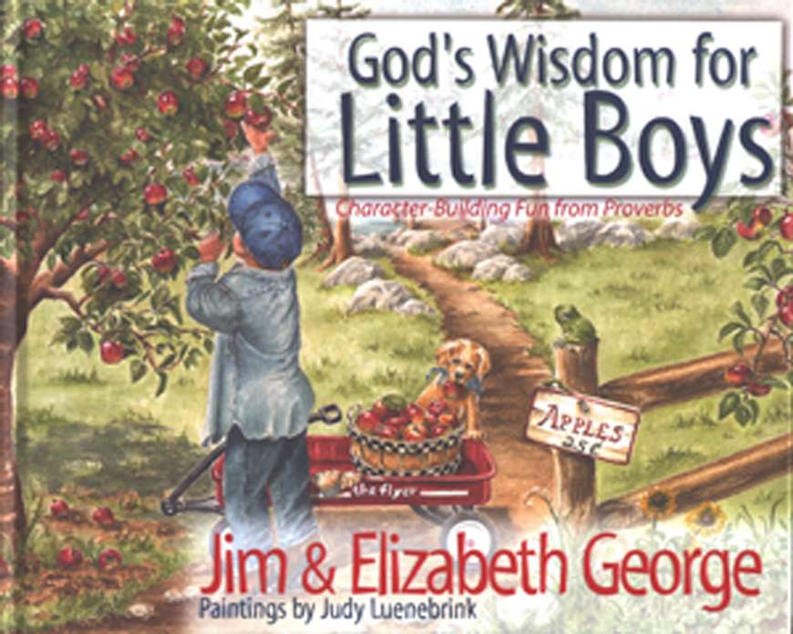 God's Wisdom for Little Boys: Character-Building Fun from Proverbs-Jim George, Elizabeth George