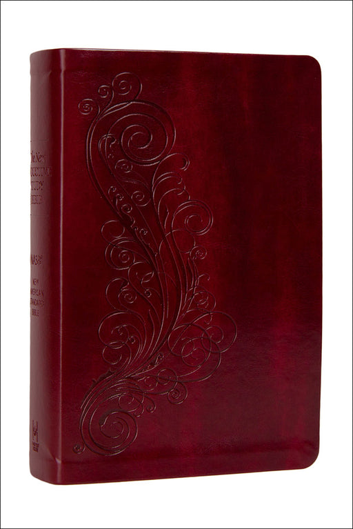 NASB-New Inductive Study Bible-Burgundy Milano Softone